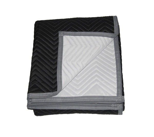 B/W Microfiber-Moving Blanket