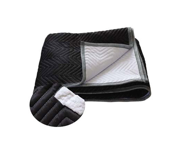 White Microfiber-Moving Blanket